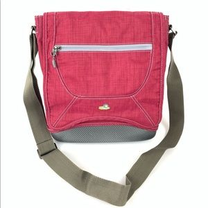 ☮️ Lilypond crossbody bag molded bottom red rose